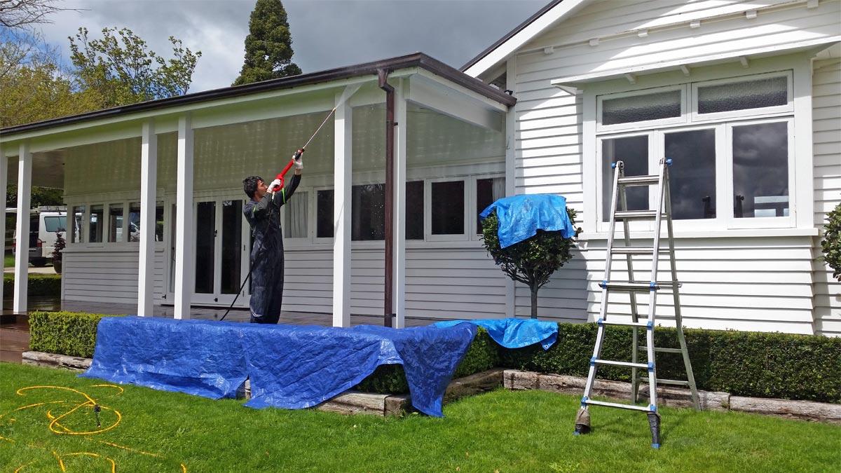 Chemical House Washing in Whakatane and Bay Of Plenty