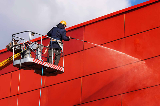 Commercial Building Wash NZ