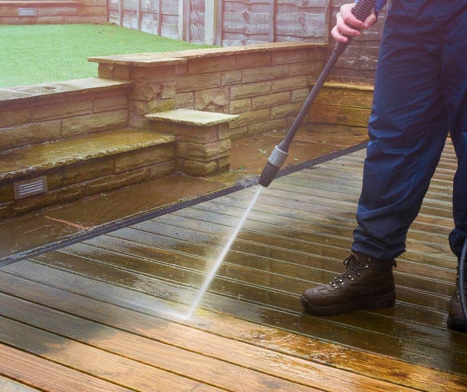 YourLocal Team Water Blasting House Deck